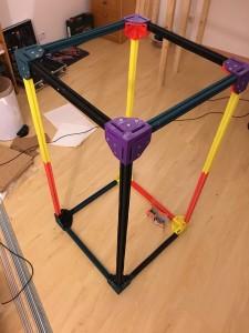 Project Locus Rahmen mit Endstücken